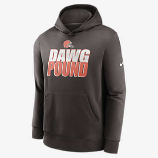 Nike Club Fleece (NFL Cleveland Browns) Big Kids' (Boys') Hoodie
