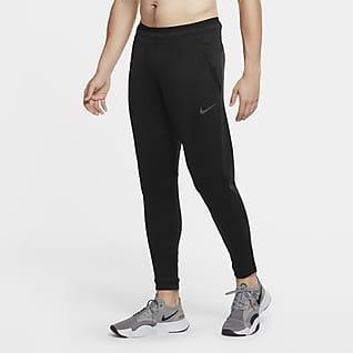 Nike Pro Calças de lã cardada para homem