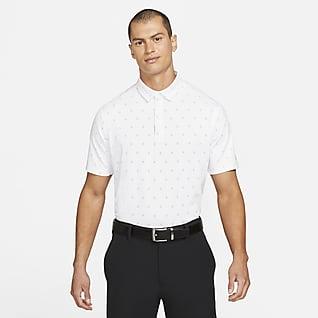 Nike Dri-FIT Player Golfskjorte med trykk til herre