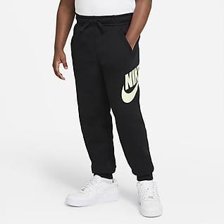 Nike Sportswear Club Fleece Παντελόνι για μεγάλα αγόρια (μεγαλύτερο μέγεθος)