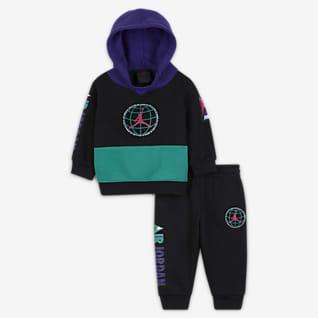 Jordan Baby (0–9M) Hoodie and Trousers Set