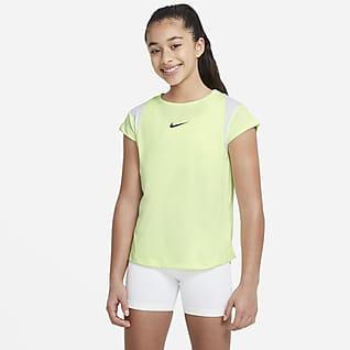Nike Dri-FIT Kurzarm-Oberteil mit Grafik für ältere Kinder (Mädchen)