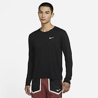 Nike Dri-FIT Miler Camiseta de running de manga larga para hombre