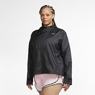 Nike Essential Løbejakke til kvinder (Plus size)