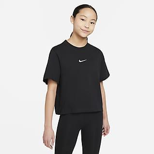 Nike Sportswear T-shirt til store børn (piger)