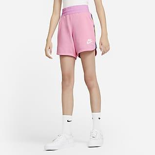 Nike Sportswear Heritage Big Kids' (Girls') Shorts