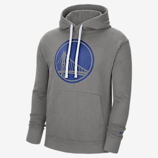 Golden State Warriors Essential Sudadera con capucha sin cierre Nike NBA para hombre