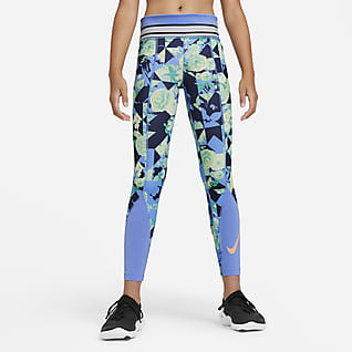 Nike One Big Kids' (Girls') Training Tights