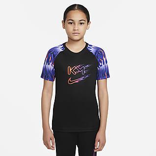 Nike Dri-FIT Kylian Mbappé Fotballoverdel til store barn