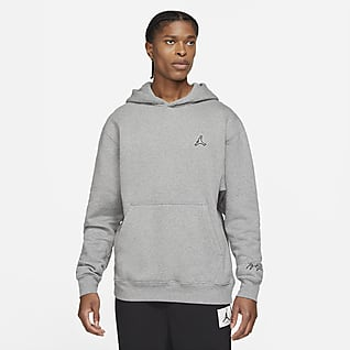 Jordan Essentials Ανδρικό φλις φούτερ με κουκούλα