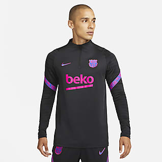 FC Barcelona Strike Nike Dri-FIT férfi futball-edzőfelső