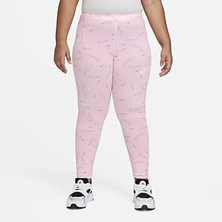 Nike Sportswear Favorites Big Kids' (Girls') Printed Leggings (Extended Size)