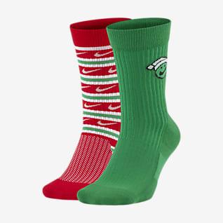 Nike SNKR Sox Chaussettes mi-mollet (2 paires)
