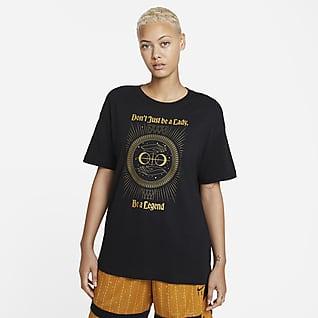 """Nike """"Legend"""" Женская баскетбольная футболка прямого кроя"""