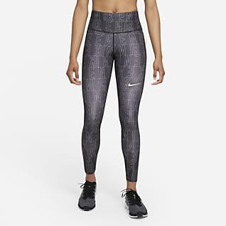 Nike Dri-FIT Run Division Epic Fast เลกกิ้งวิ่งเอวปานกลางผู้หญิง