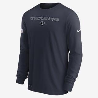 Nike Dri-FIT Sideline Team Issue (NFL Houston Texans) Men's Long-Sleeve T-Shirt