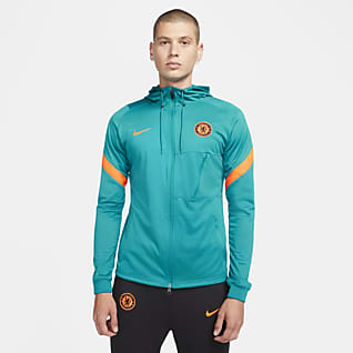 Chelsea FC Strike Track jacket da calcio in maglia Nike Dri-FIT - Uomo