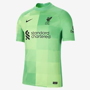 Liverpool FC 2021/22 Stadium Goalkeeper Fotbollströja för män