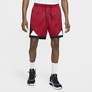 Jordan Dri-FIT Air Herenshorts met ruitdetail