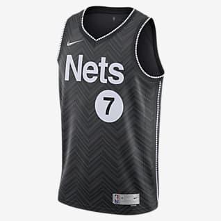 Kevin Durant Nets Earned Edition Men's Nike NBA Swingman Jersey