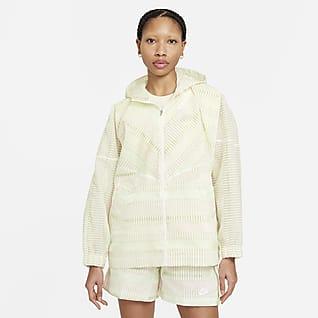 Nike Sportswear Windrunner Trøje med lynlås til kvinder