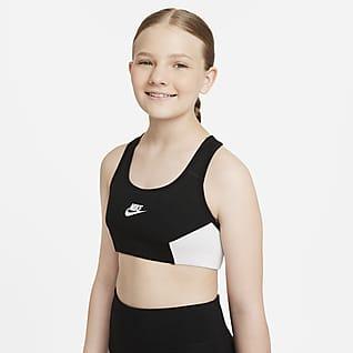 Nike Sportswear Classic Sujetador deportivo para niñas talla grande