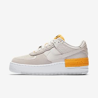 nike air force 1 shadow femme jaune