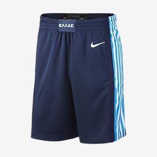 Griechenland Nike (Road) Limited Herren-Basketballshorts