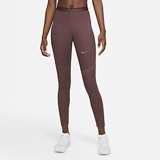 Nike Dri-FIT Run Division Epic Luxe Dámské funkční běžecké legíny sestředně vysokým pasem