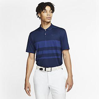 Nike Dri-FIT Vapor Polo de golf a rayas - Hombre