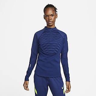 Nike Therma-FIT Strike Winter Warrior Drill-Fußballoberteil für Damen