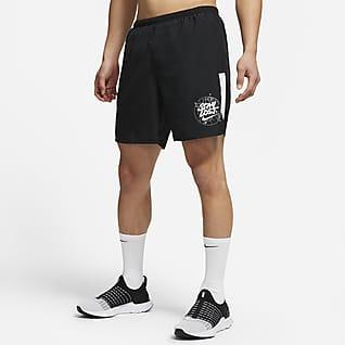 Nike Challenger Wild Run กางเกงวิ่งขาสั้นมีซับในผู้ชาย