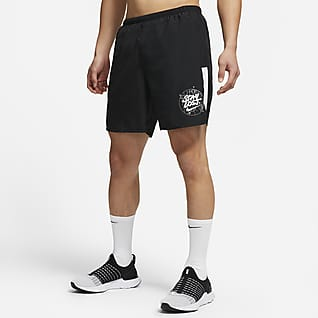 Nike Challenger Wild Run 男款帶襯跑步短褲