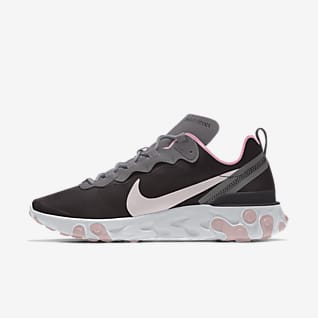 Nike React Element 55 By You Custom Women's Lifestyle Shoe