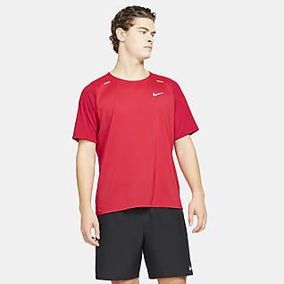Nike Breathe Rise 365 Camiseta de running híbrida para hombre