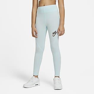 Nike Sportswear Favorites Leggings de cintura alta para niñas talla grande