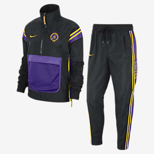 Lakers Courtside Nike NBA-Trainingsanzug für Damen