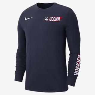 Nike College Dri-FIT (UConn) Men's Long-Sleeve T-Shirt