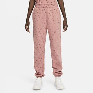 Nike Sportswear Dámské kalhoty s potiskem