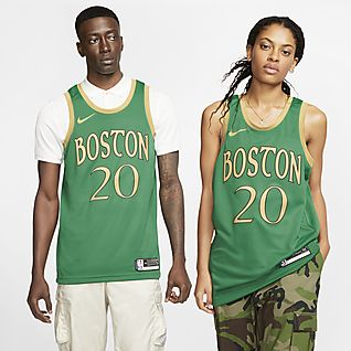 Nike Men's Brooklyn Nets On Court Black Dri FIT Showtime