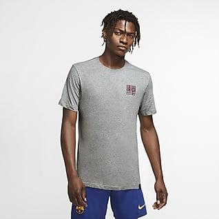 巴萨 男子足球T恤