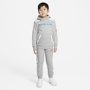 Nike Air Conjunto de sudadera con capucha y jogger - Niño/a pequeño/a