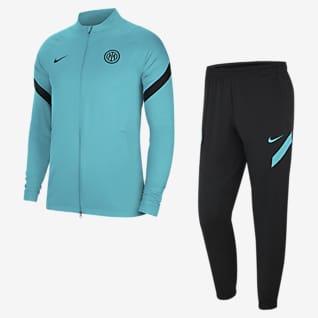 Inter Mediolan Strike Męski dres piłkarski Nike Dri-FIT