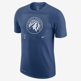 Minnesota Timberwolves Logo Grid Men's Nike Dri-FIT NBA T-Shirt
