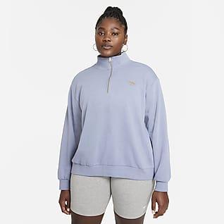 Nike Sportswear Femme Sudadera con cierre de 1/4 para mujer talla grande