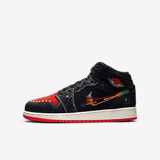 Air Jordan 1 Mid SE Older Kids' Shoes