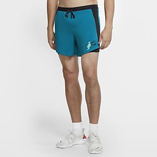 Nike Flex Stride Future Fast Löparshorts 2-i-1 för män