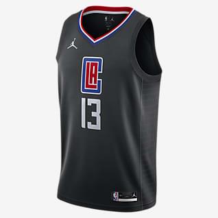 Paul George Clippers Statement Edition 2020 เสื้อแข่ง Jordan NBA Swingman
