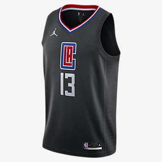 Paul George Clippers Statement Edition 2020 Jordan NBA Swingman Jersey