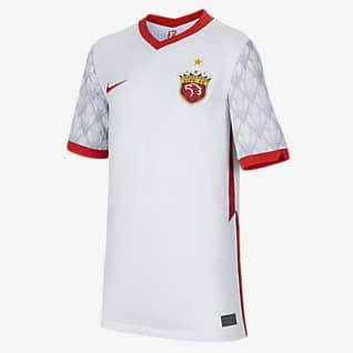 2021 赛季上海上港客场球迷版 大童足球球衣